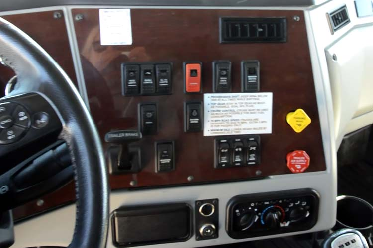Western Star 5700 Dashboard