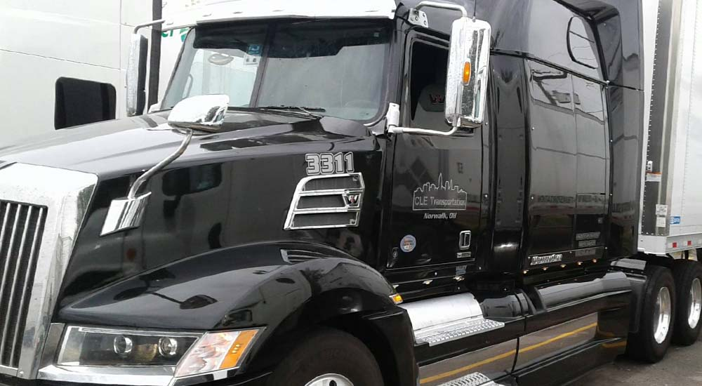 CLE Transportation is PHMSA certified transporter of hazardous materials, offering van, refrigerated and box truck trailers servicing truck load, volume and less-than-truckload (LTL) service in 48 states